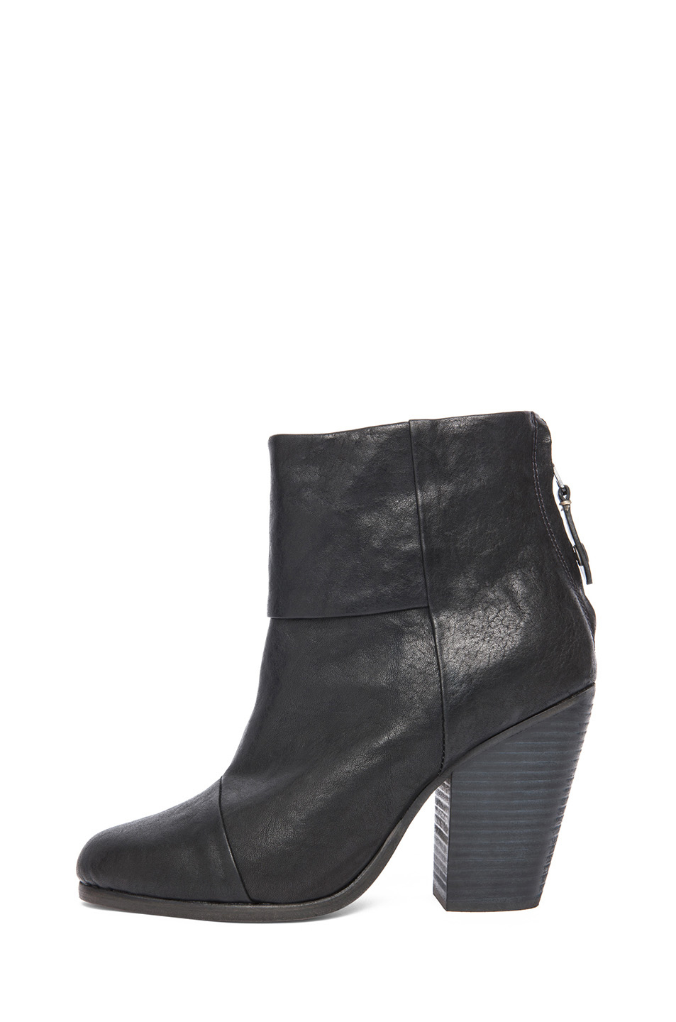 rag & bone|Classic Newbury Leather Boots in Black