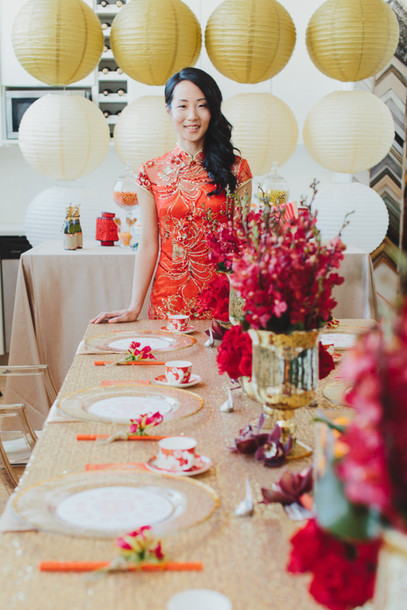 100 layer cake blogger chinese red dress new year's eve lifestyle