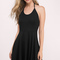 Skater dresses | fit and flare, white, black, long sleeved, lace| tobi