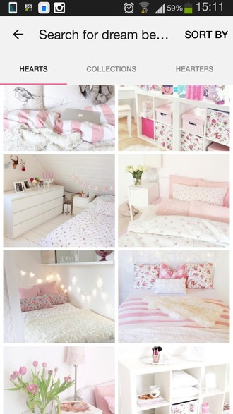 home accessory bedding pastel girly