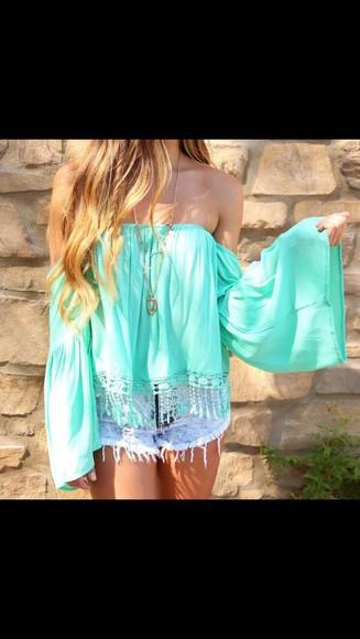 mint top mint green sleeveless