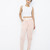 CAMRIE Layered Dress Light Pink Pant at FLYJANE