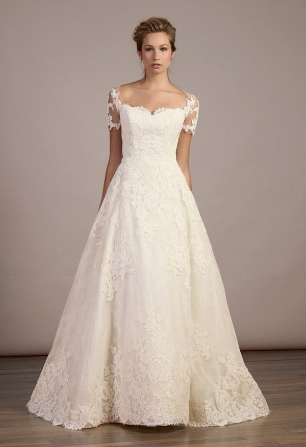 dress isabelle armstrong scalloped neckline wedding dress off the shoulder dress lace wedding dress