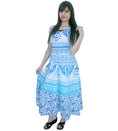 dress,blue long gown,royal blue long gown,maxi dress,womens summer gowns,trendy gowns,fashion treends,cotton long gown,womenwear,clothes,mandala clothes,long gown,evening long gown,womens gowns,boho summer outfits,unique dress,dressy,women style