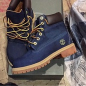 timberlands,blue,boots,shoes