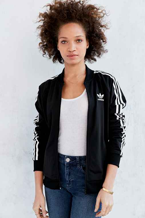 85a4caac adidas Originals Supergirl Track Jacket - Urban Outfitters