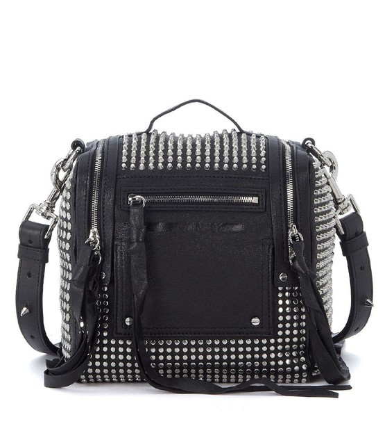 studs mini backpack leather backpack leather bag