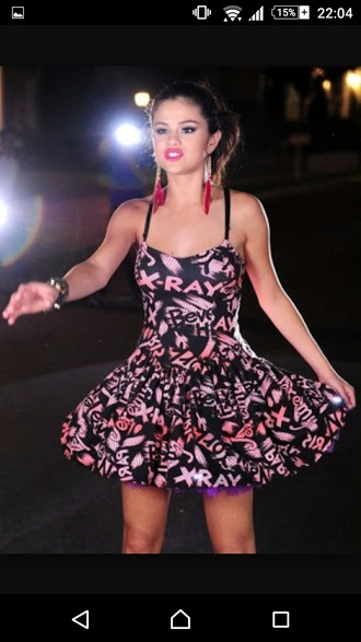 dress pink dress selena gomez selena gomez dress x ray black dress purple dress lovely lovely dress ballerina dress ballerina love pink jeremy scott jeremy scott x girly dress swag girl music video disney