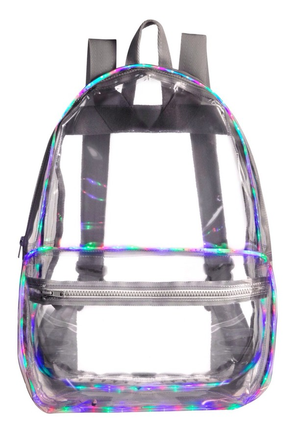 bag clear backpack see through