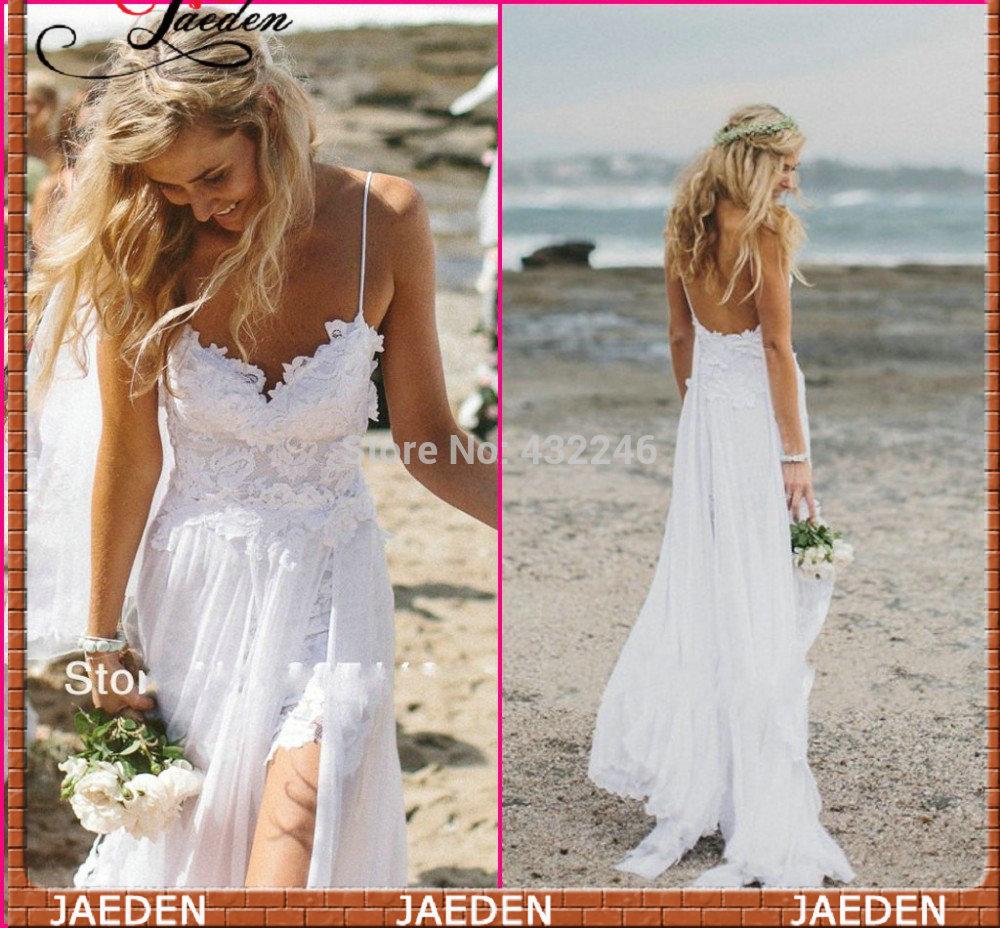 Buy sw002 new side slit beach wedding for Wholesale wedding dress suppliers