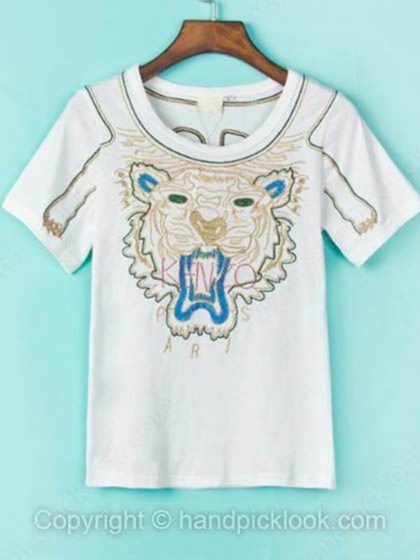 t-shirt print top