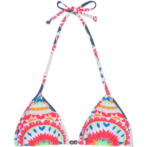 Mara hoffman triangle tie bikini top