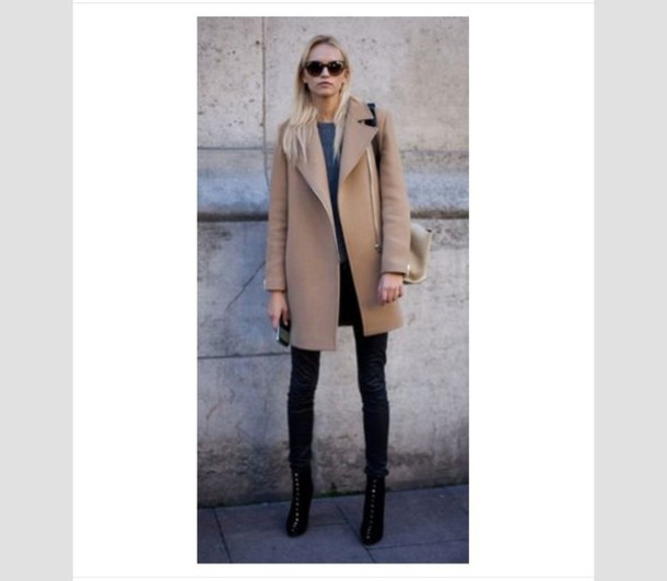 coat camel coat