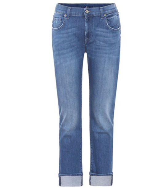 7 For All Mankind jeans skinny jeans blue