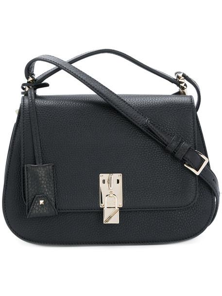 women bag messenger bag leather black