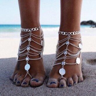 jewels body chain