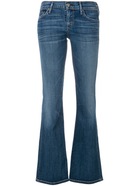 CITIZENS OF HUMANITY jeans women cotton blue