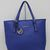 $85.55 - MICHAEL Michael Kors Jet Set Travel Tote Dark Blue Saffiano Leather