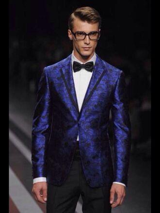 jacket prom blue blazer dope blazer suit top blazers online black top menswear prom menswear