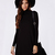Black Long Sleeve Casual Dress - Sheinside.com