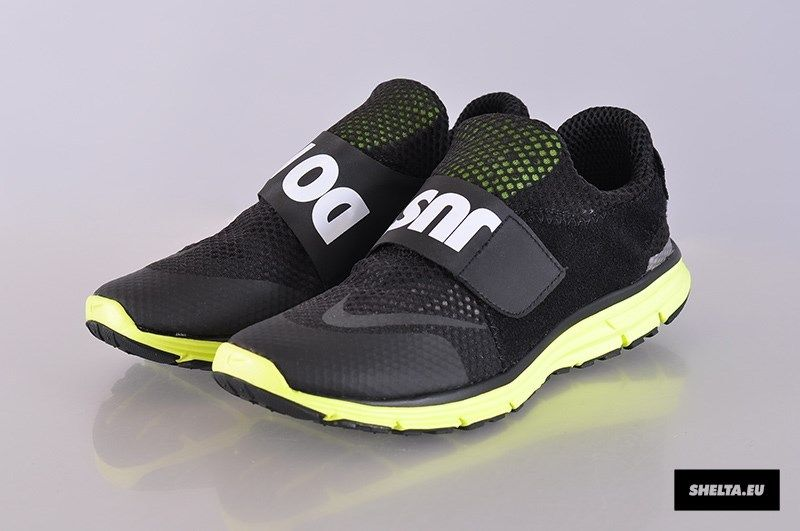 cheap for discount f0515 35fae New Nike Lunarfly 306 Black White Volt Mens Sz 11 Training Running Sock  Dart | eBay