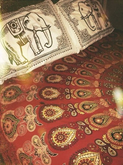 boho hippie pajamas pillows bedding