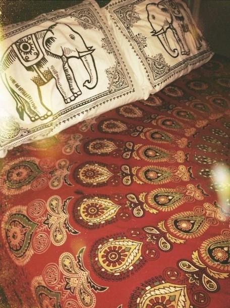 pajamas pillow bedding boho hippie