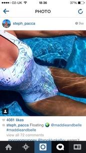swimwear,maddieandbelle,map print,swimming costume