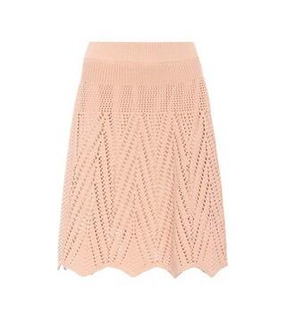 skirt cotton pink