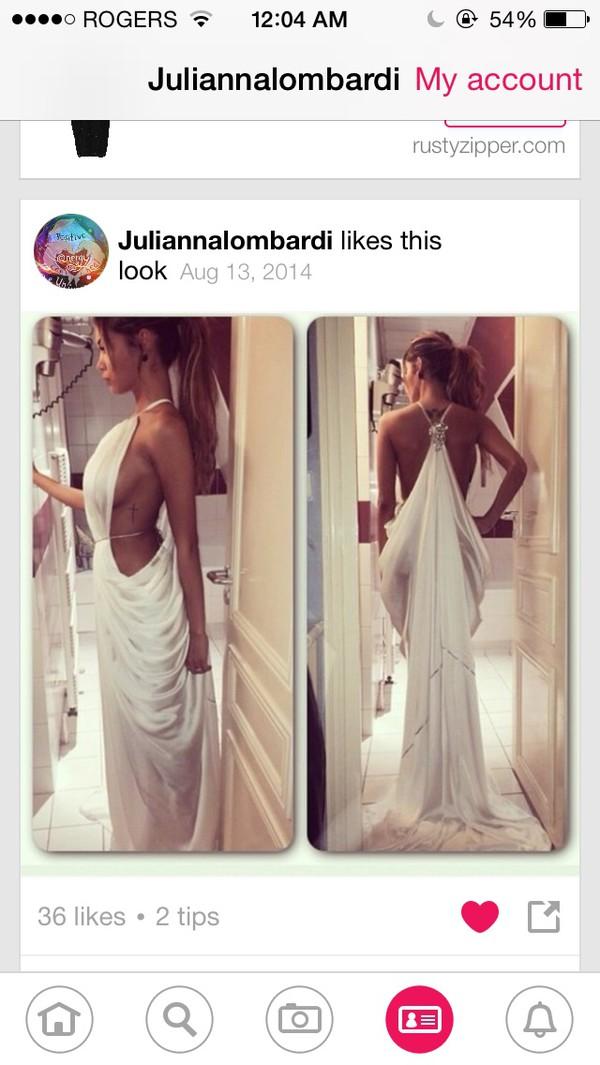 white dress prom dress dress