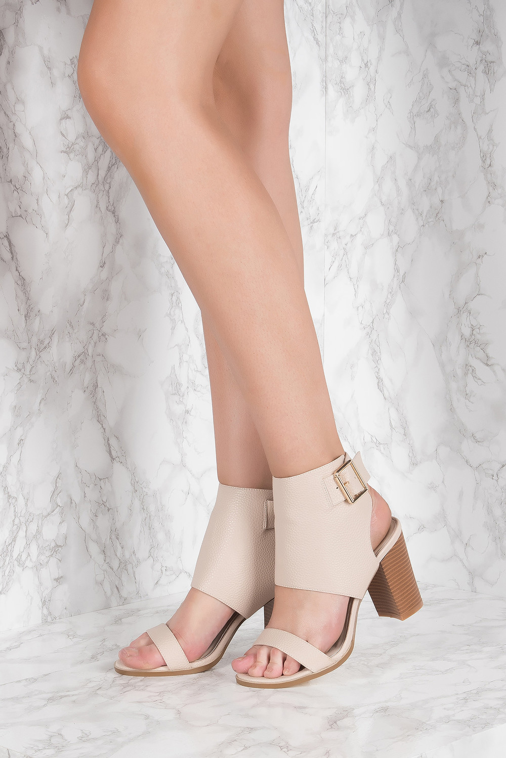 NA-KD Shoes Heeled Buckle Sandals