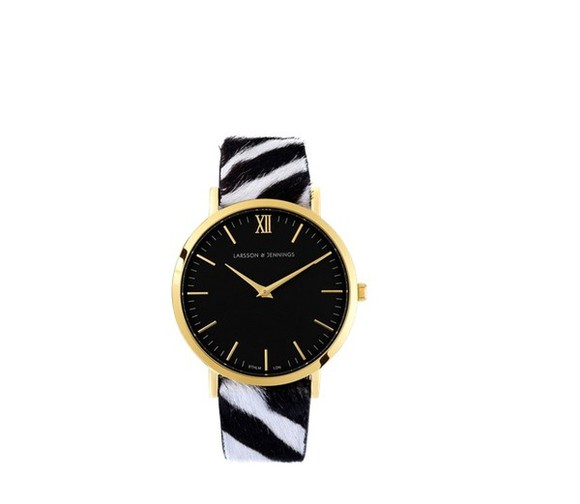 wild jewels larssonjennings watch zebra larsson jennings