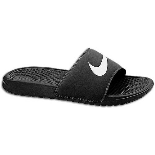 buy popular 06353 88a7a Nike Benassi Swoosh Slide - Men's at Foot Locker