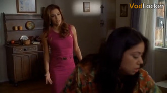 dress fuchsia dress pink dress cut-out dress gabrielle solis eva longoria desperate housewives