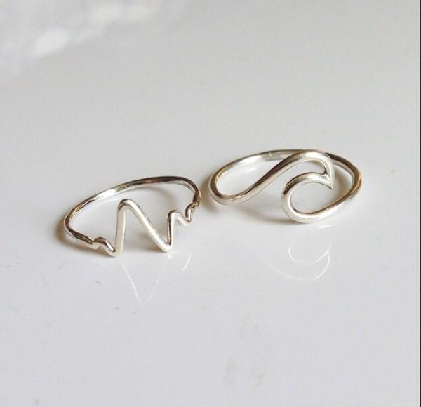 jewels ring waves ocean rings and jewelry ocean design