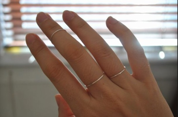 jewels rings and tings silver ring minimalist jewelry