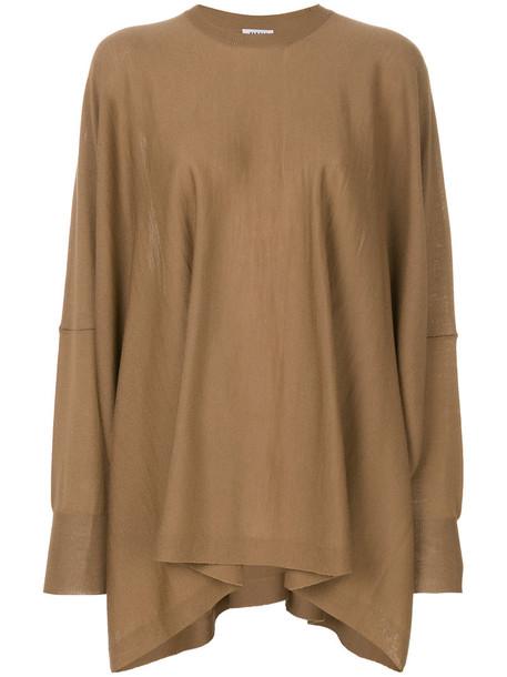 P.A.R.O.S.H. sweater women wool brown