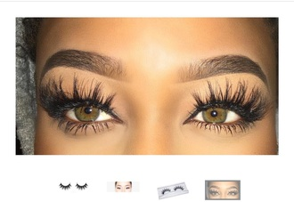 make-up lashes