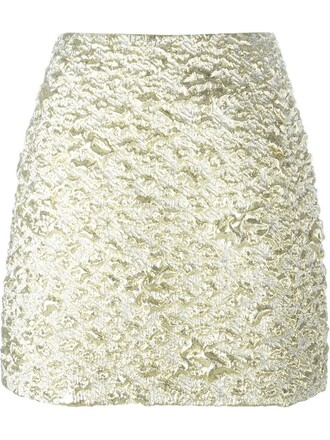 skirt mini skirt mini metallic
