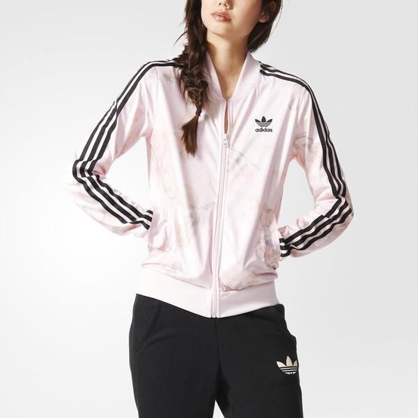 adidas rose track top
