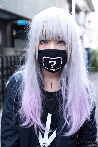 hair accessory pastel kawaii mask harajuku fashion