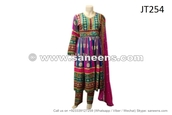 dress,traditional afghan dress,saneens afghan dress,afghanistan fashion,afghan frock