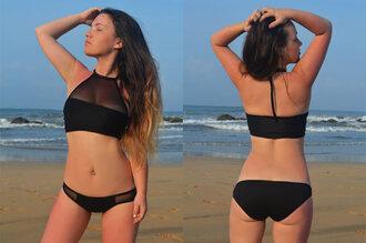 swimwear mesh mesh swimwear sheer swimsuit mesh swimsuit mesh shirt black swimwear black sheer swimsuit