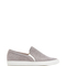 Huntington slip-on quilted sneaker in grey by tabitha simmons - moda operandi