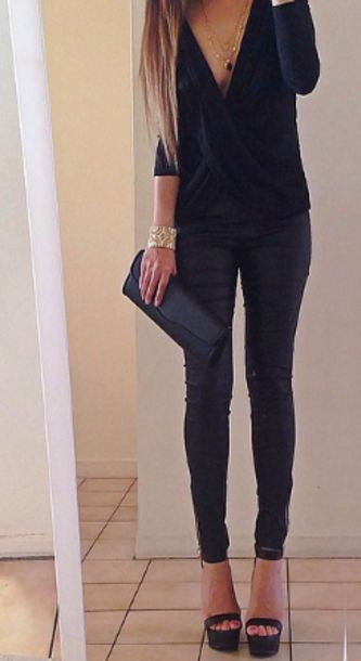 Shoes Heels High Heels Black Outfit Night Summer Like Jewels Purse Style Girl Shoes Girly Girly