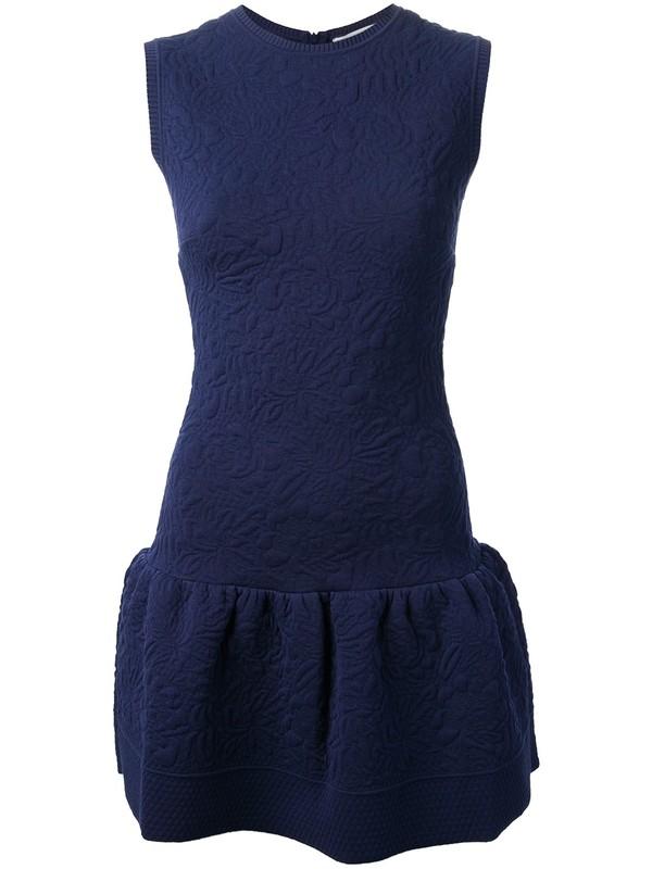 dress Valentino sleevless dress blue dress