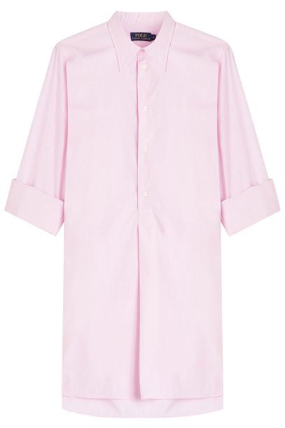 b0b10726ab3983 Polo Ralph Lauren Cotton Shirt in rose - Wheretoget