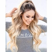 top,amour,tight,long,long sleeves,shirt,grey gray,cotton