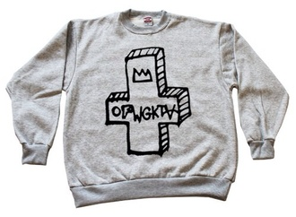 jacket odd future grey sweater