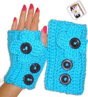 gloves,women,fingerless,twitter,pinterest,tumblr,etsy,button gloves,utton fingerles,fingerless gloves,blue fingerles,blue gloves,button,crochet,crochet gloves,crochet fingerles,pintrest,wanelo